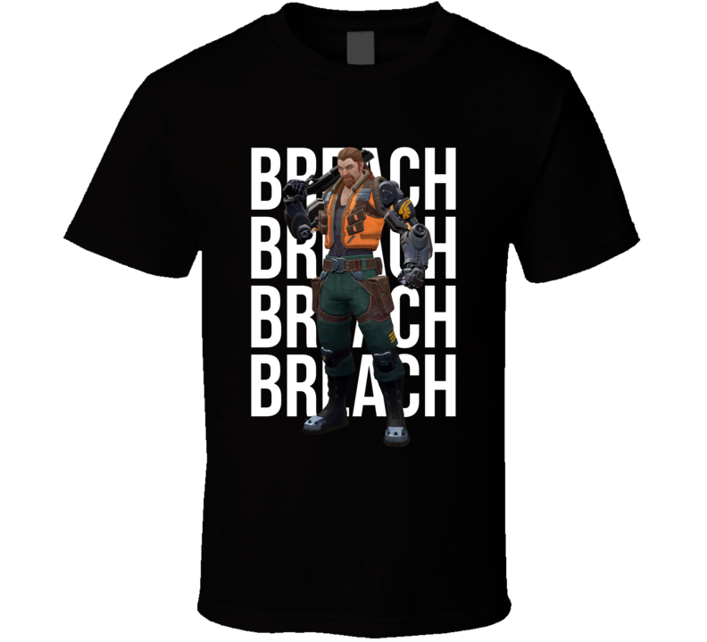 Breach Valorant Agent Video Game Cool Gamer T Shirt