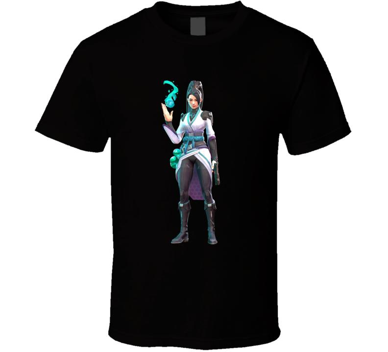 Sage Valorant Video Game Cool Gamer T Shirt