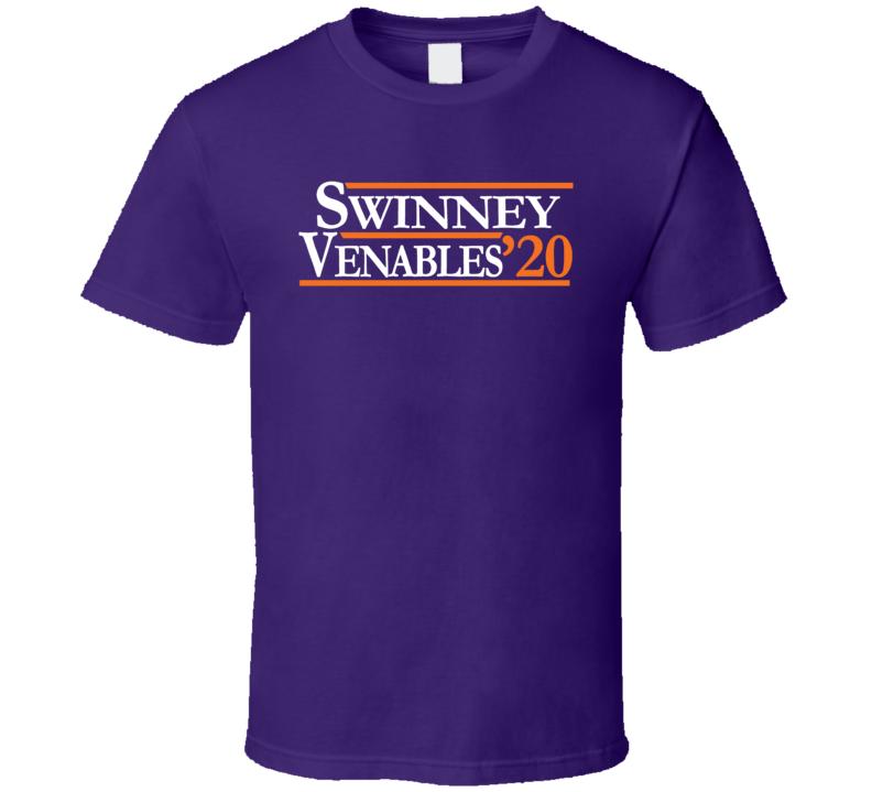 Brent Venables Dabo Swinney 2020 Clemson Football Fan Cool T Shirt
