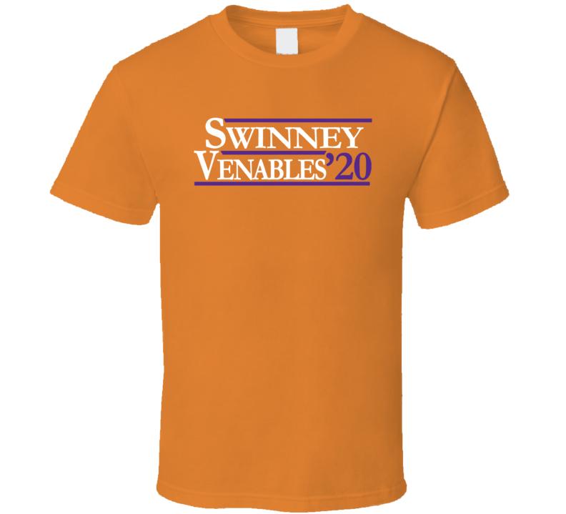 Brent Venables Dabo Swinney 2020 Clemson Football T Shirt