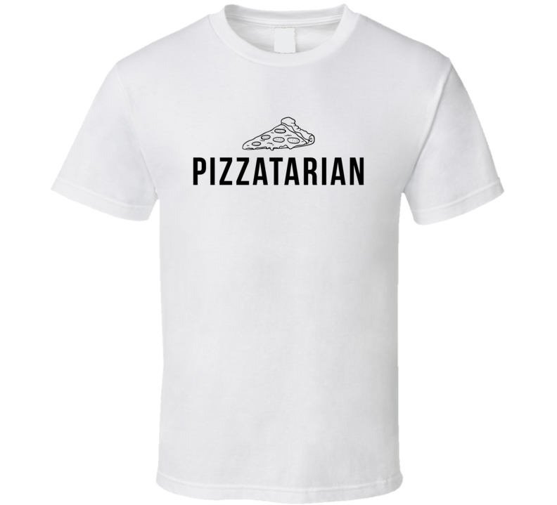 Pizzatarian Funny Pizza Lover T Shirt