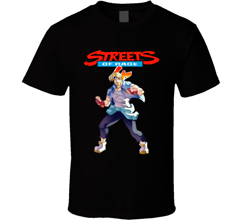 Streets Of Rage 4 Axel Video Game Fan T Shirt