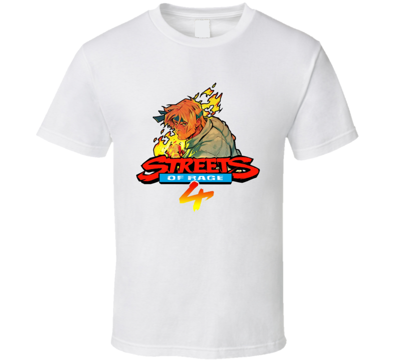 Streets Of Rage 4 Axel Video Game T Shirt