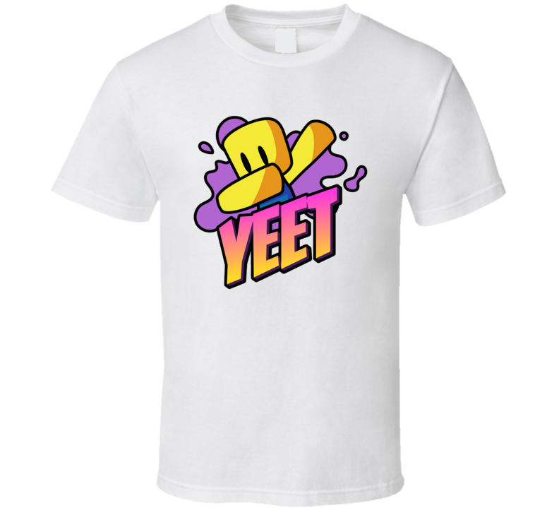 Roblox Yeet Cool Video Game Gamer T Shirt