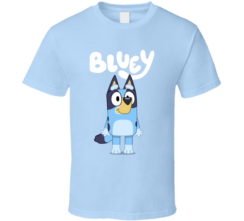 Bluey Kids Cartoon Fan T Shirt