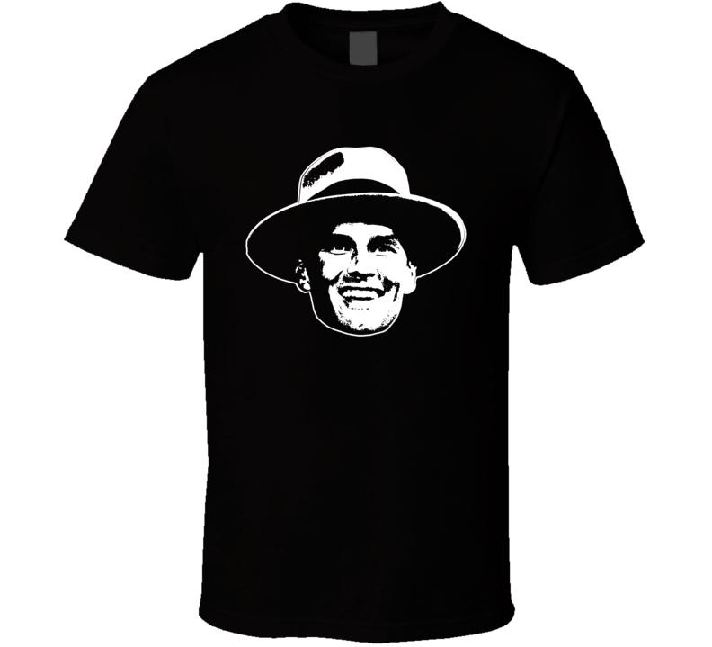 Tompa Brady Foquet Hat Funny Tom Brady Silhouette Tampa Bay Football Fan T Shirt