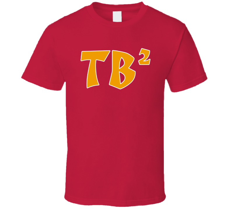Tb Squared Tom Brady Tampa Bay Football Fan T Shirt