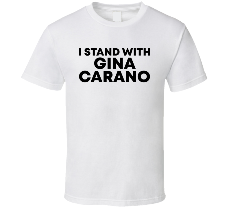 I Stand With Gina Carano Actress Fan T Shirt