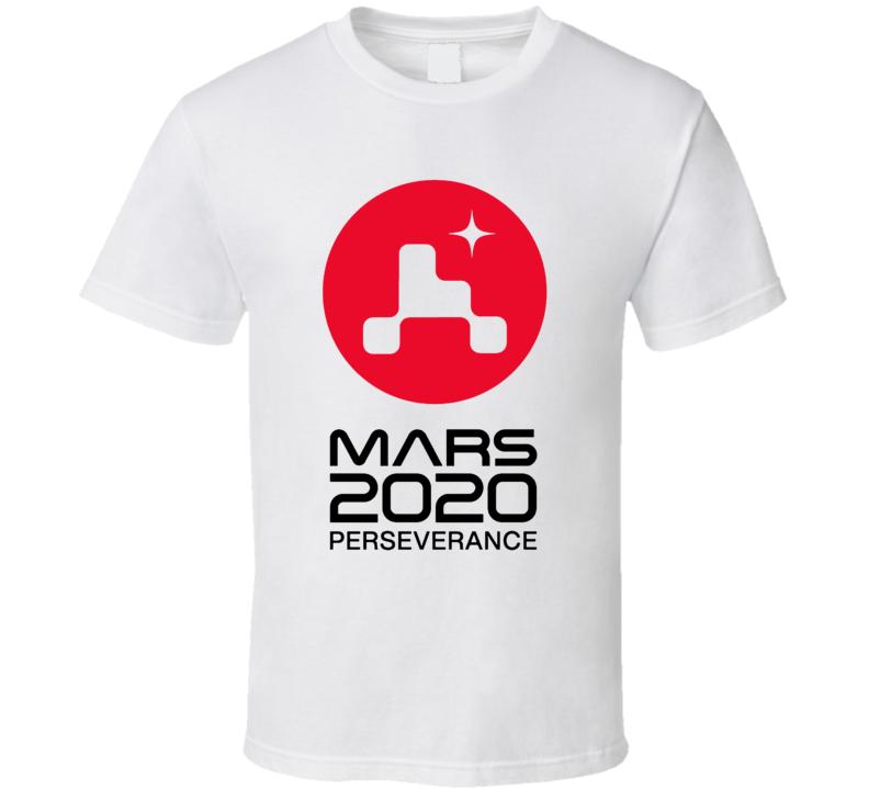 Nasa Mission Mars 2020 Perseverance T Shirt