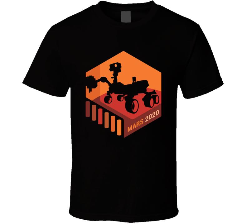 Nasa Mars 2020 Space Mission T Shirt
