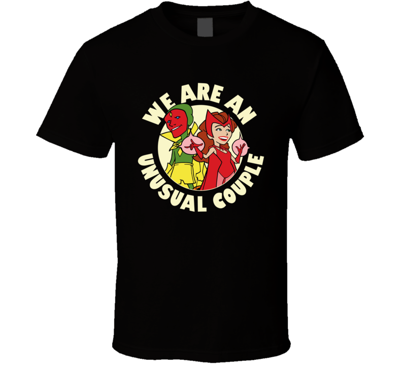 Wandavision We Are An Unusual Couple Tv Series Fan T Shirt