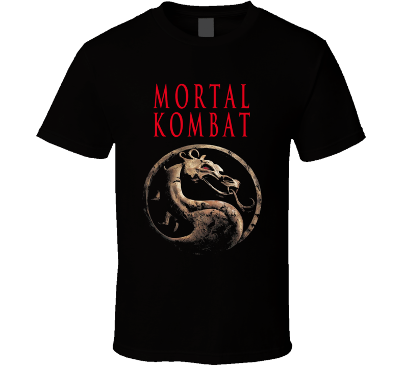 Mortal Kombat 1995 Retro Movie Fan T Shirt