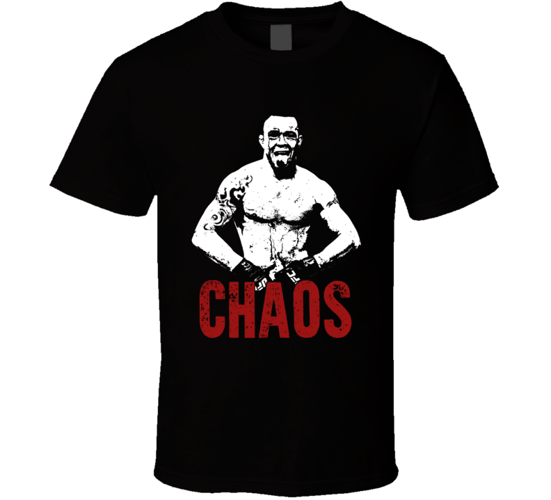 Colby Chaos Covington Silhouette Mma Fighter Fan T Shirt