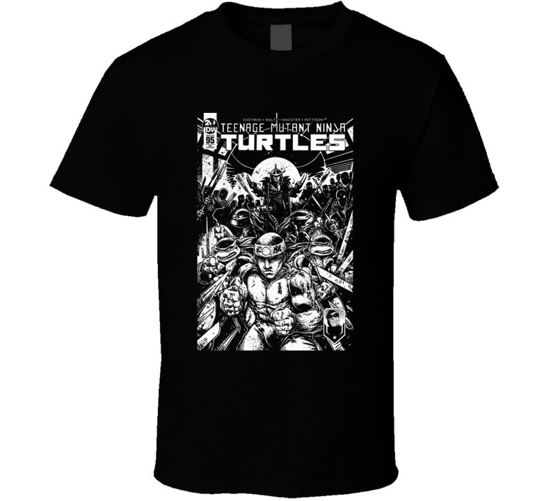 George Saint Pierre Ninja Turtles Mashup Parody Mma Fighter Fan T Shirt