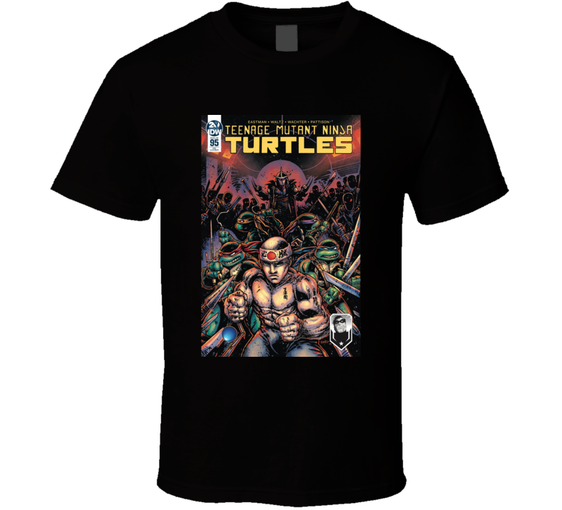George Saint Pierre Teenage Mutant Ninja Turtles Mashup Parody Mma Fighter Fan T Shirt