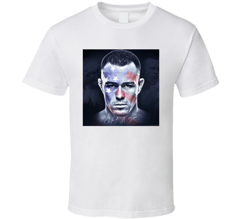 Colby Chaos Covington Mma Fighter Fan T Shirt
