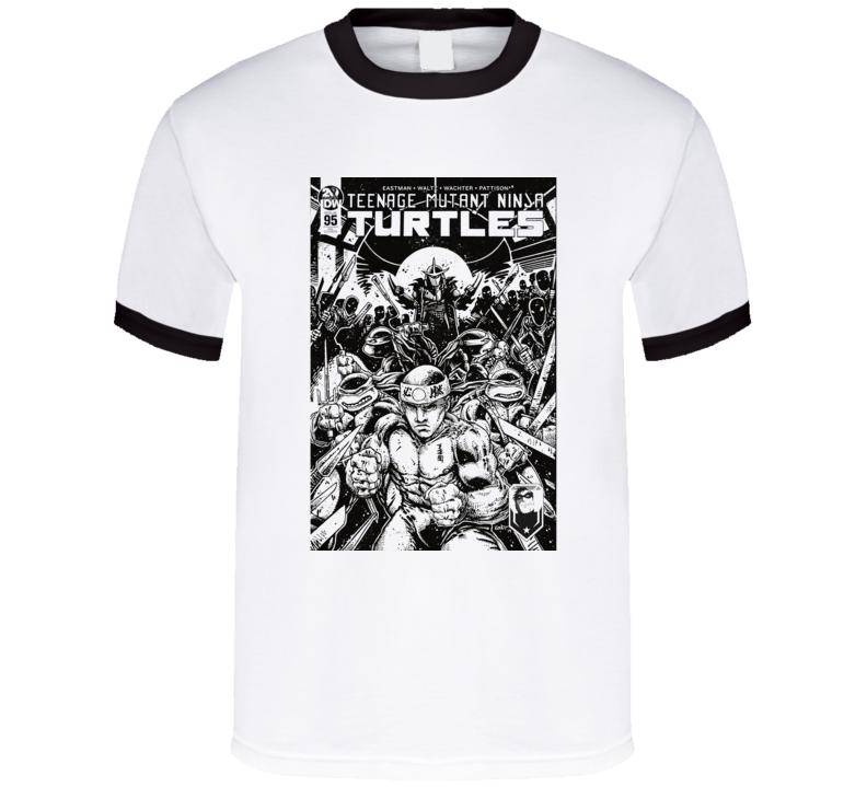 George Saint Pierre Ninja Turtles Mashup Parody Mma Fighter Fan Cool T Shirt