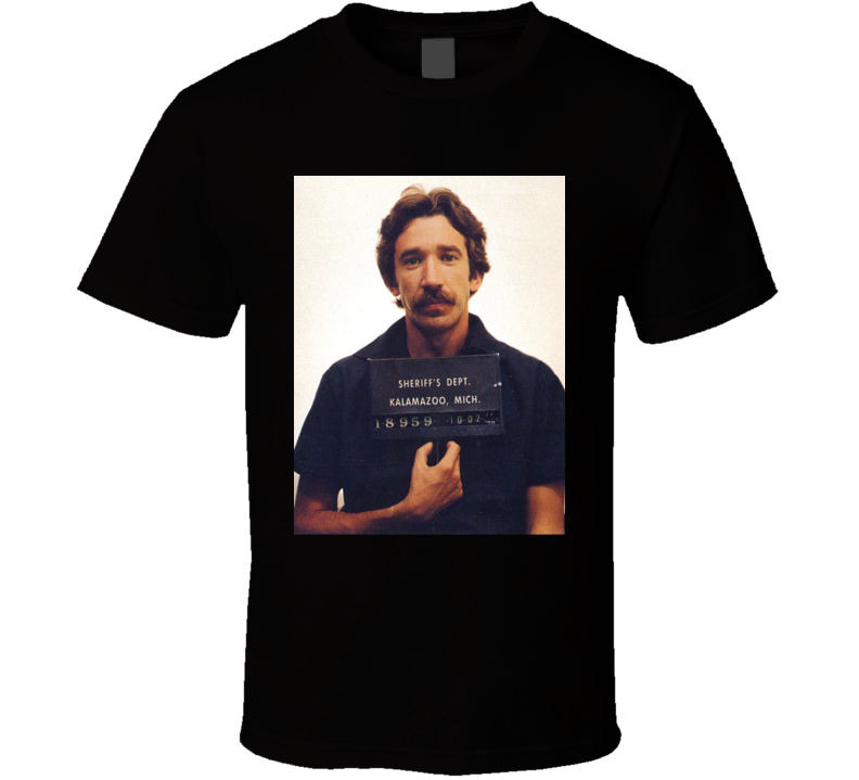 Tim Allen Celebrity Mugshot T Shirt