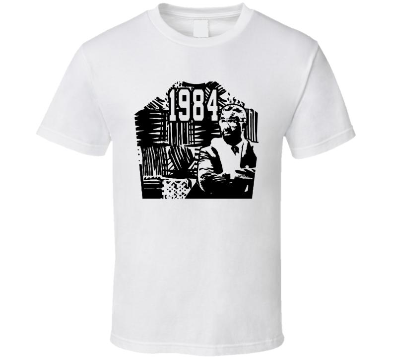 John Thompson 1984 Retro Basketball Coach Fan T Shirt