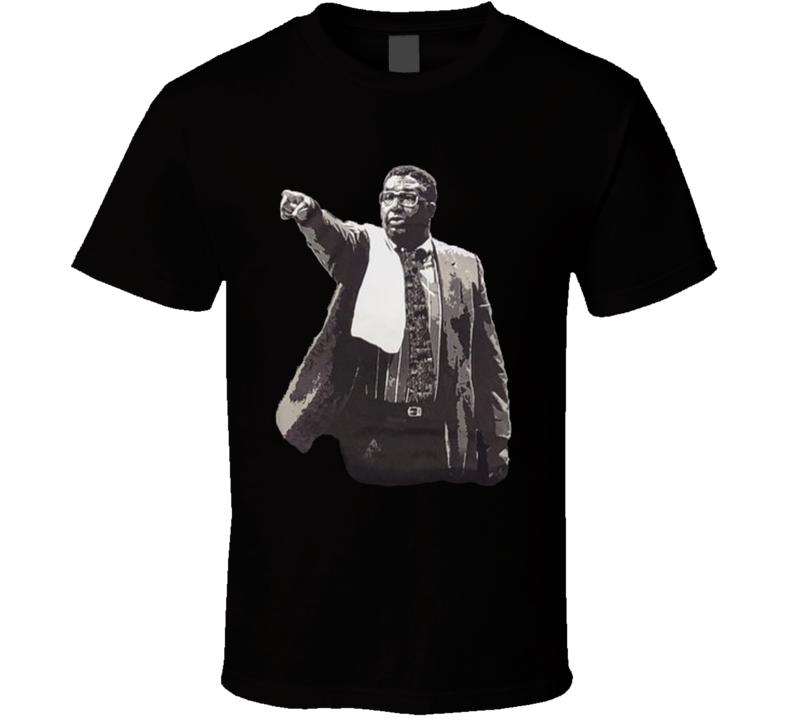 Coach John Thompson Retro Georgetown Basketball Fan T Shirt