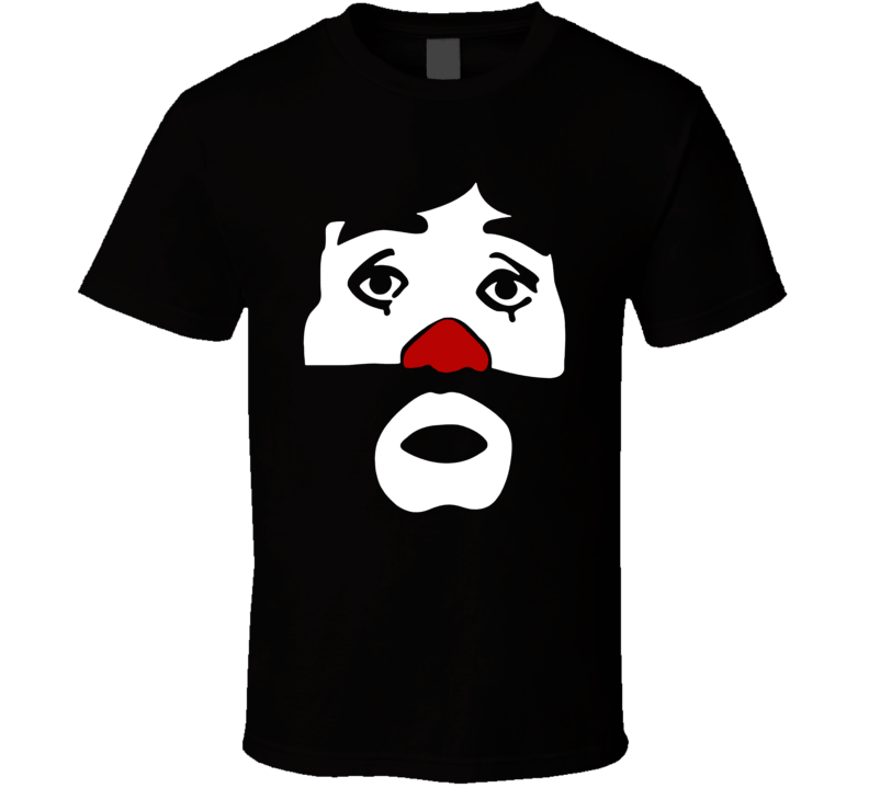 Cepillin Mexican Clown Face Comedian Fan T Shirt