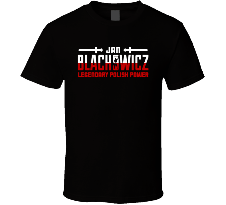 Jan Blachowicz Legendary Polish Power Light Heavyweight Champion Mma Fighter Fan Cool T Shirt