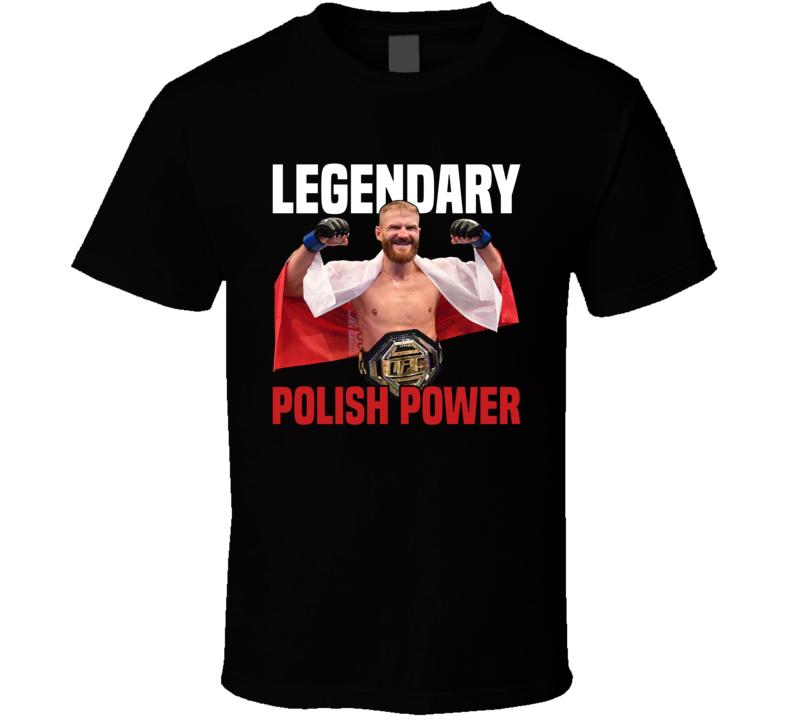 Jan Blachowicz Legendary Polish Power Light Heavyweight Champion Mma Fighter Fan T Shirt