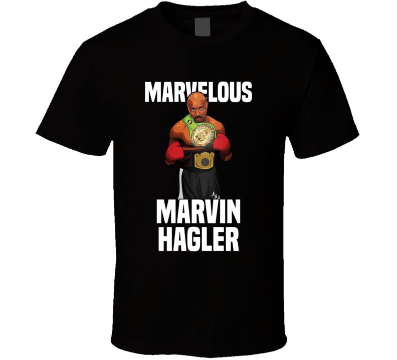 Marvelous Marvin Hagler Retro Boxer Fan T Shirt