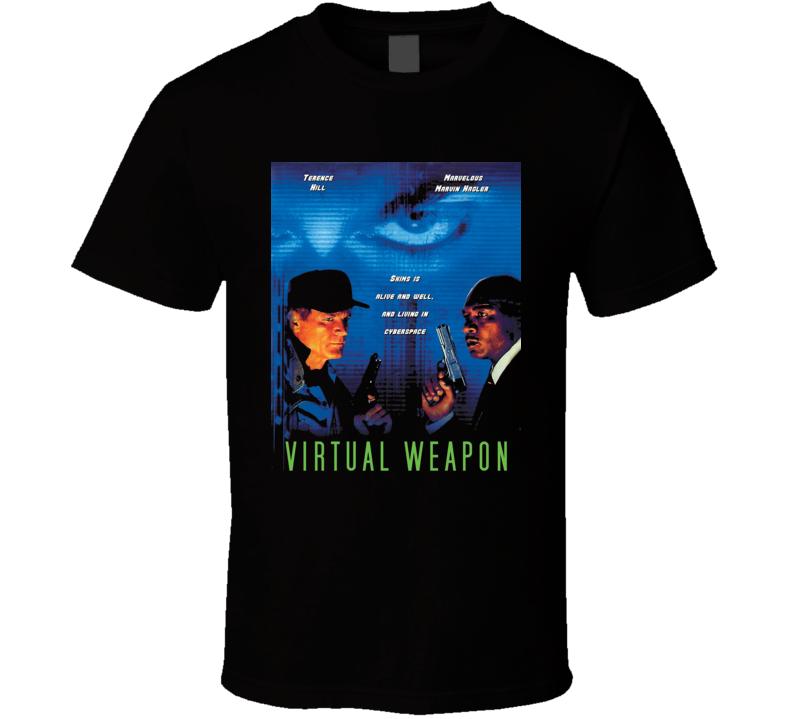 Marvelous Marvin Hagler Virtual Weapon Retro Movie Fan T Shirt