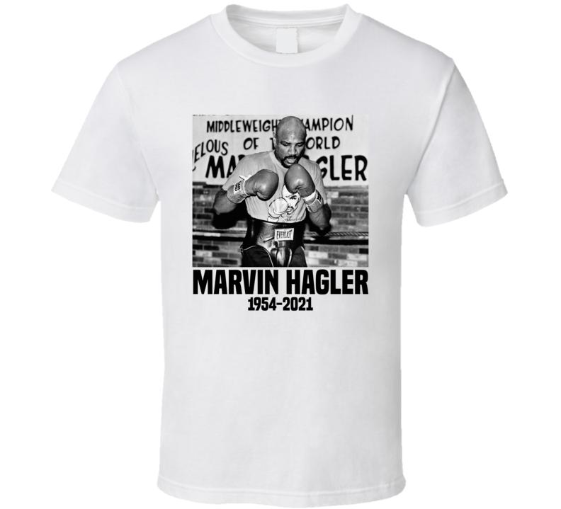 Marvelous Marvin Hagler Rest In Peace Retro Boxer Fan T Shirt