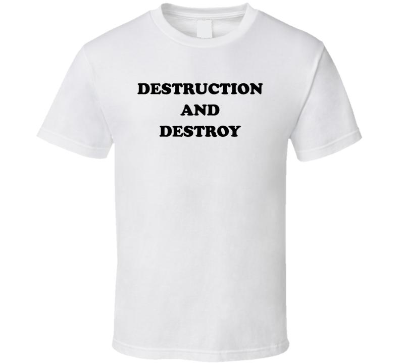 Destruction And Destroy Marvelous Marvin Hagler Retro Boxer Fan T Shirt