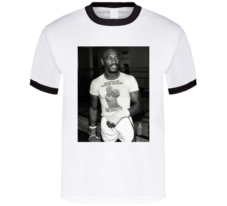 Destruction And Destroy Marvelous Marvin Hagler Pro Boxer Fan T Shirt