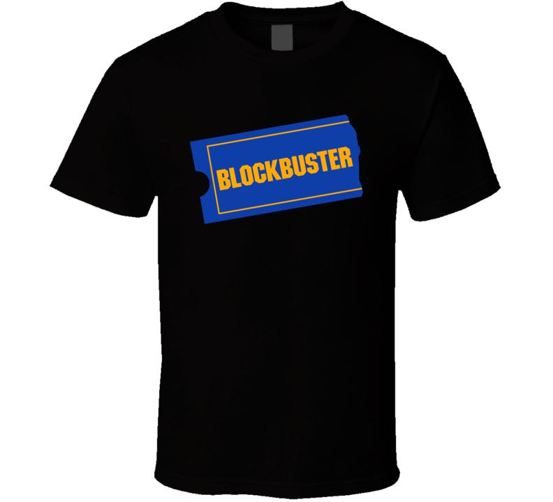 Retro Blockbuster Video T Shirt