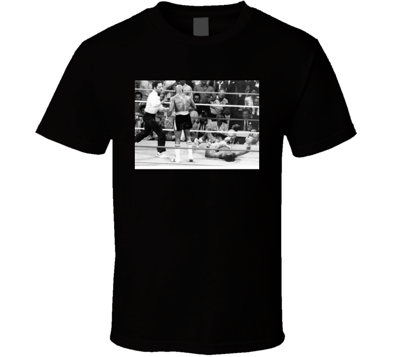 Marvin Hagler Vs Tommy Hearns Knockout Retro Boxing Fan T Shirt