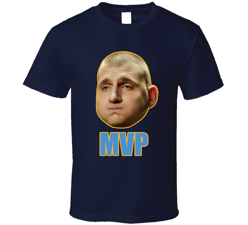 Nikola Jokic Mvp Denver Basketball Fan T Shirt
