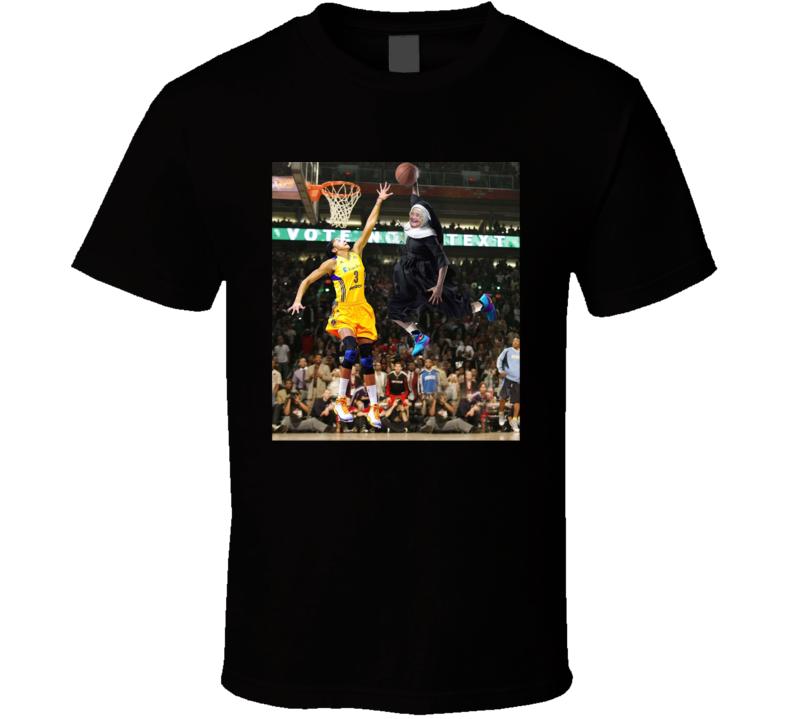 Sister Jean Dunking Loyola Basketball Fan T Shirt