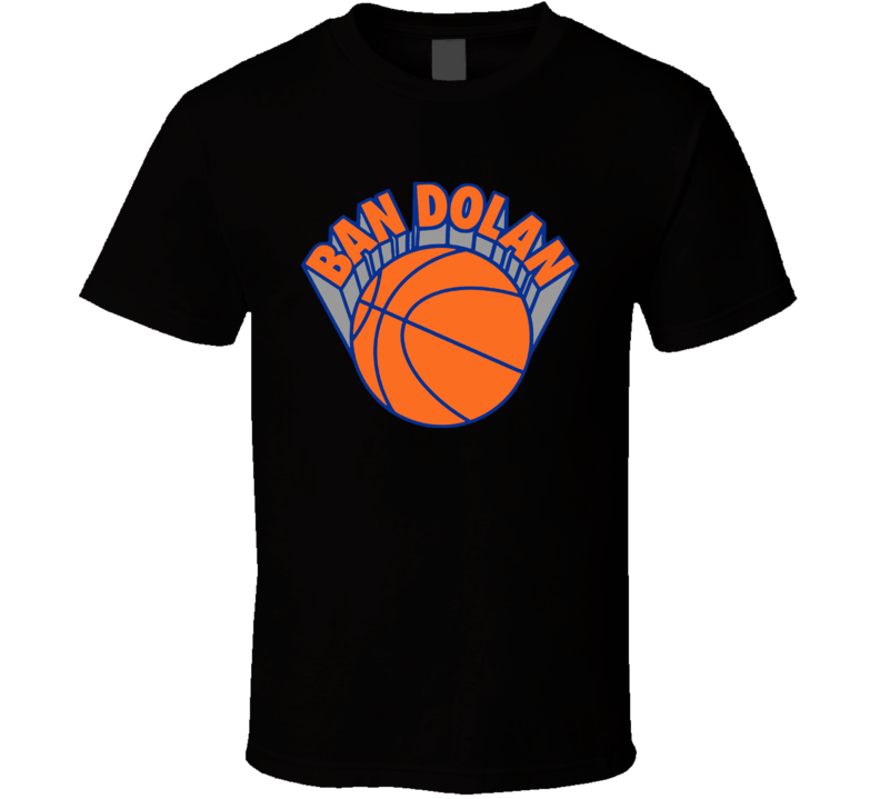 Ban James Dolan New York Basketball Fan Funny T Shirt