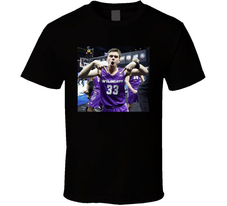Paul Hiepler Horns Down Abiline Christian Basketball Fan March Madness Meme T Shirt