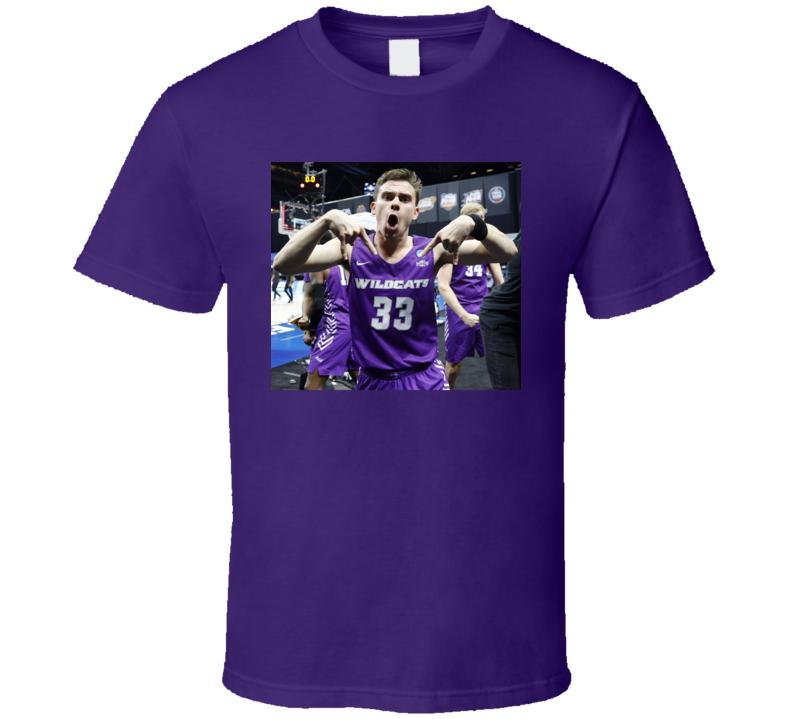 Paul Hiepler Horns Down Abiline Christian Basketball Fan March Madness Funny Meme T Shirt
