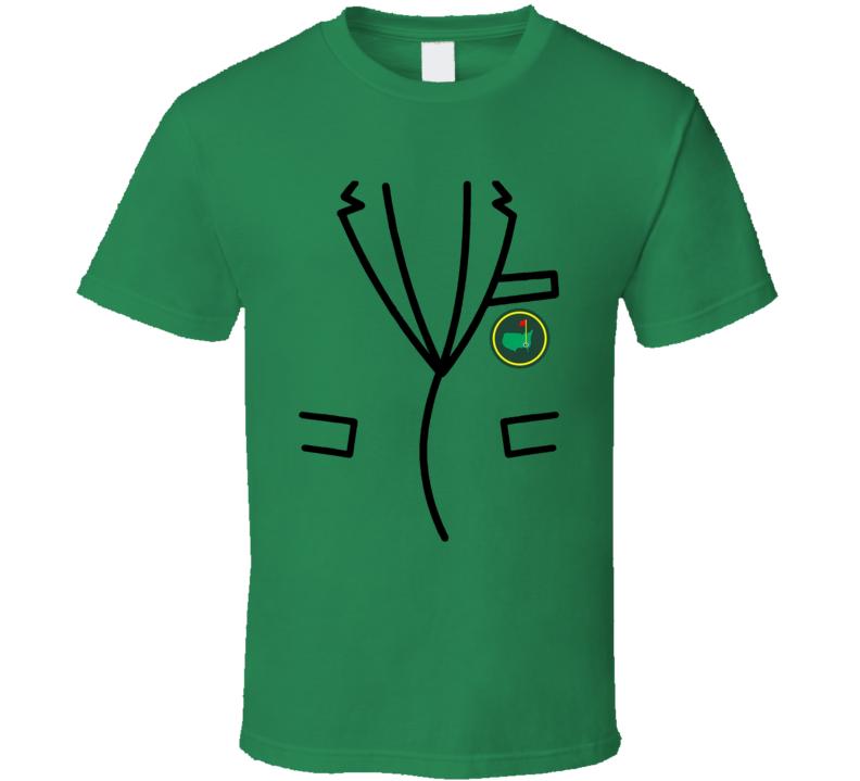 Masters Green Jacket Golf Tournament Fan T Shirt
