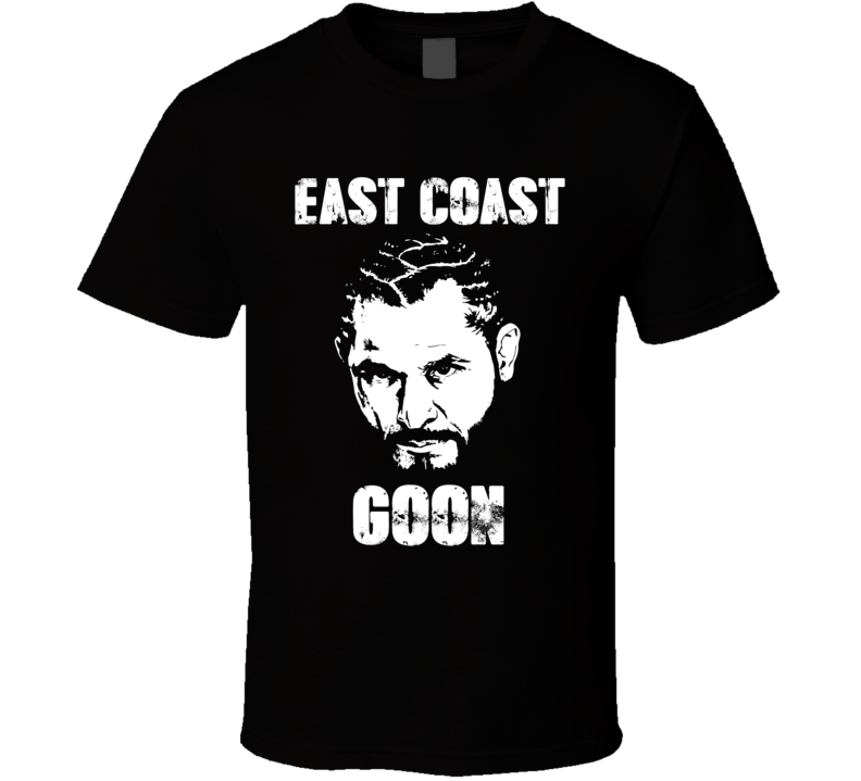 Jorge Masvidal East Coast Goon Mma Fighter Fan T Shirt