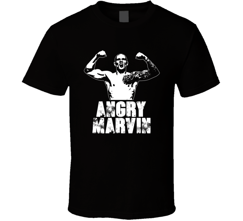 Angry Marvin Vettori Mma Fighter Fan T Shirt