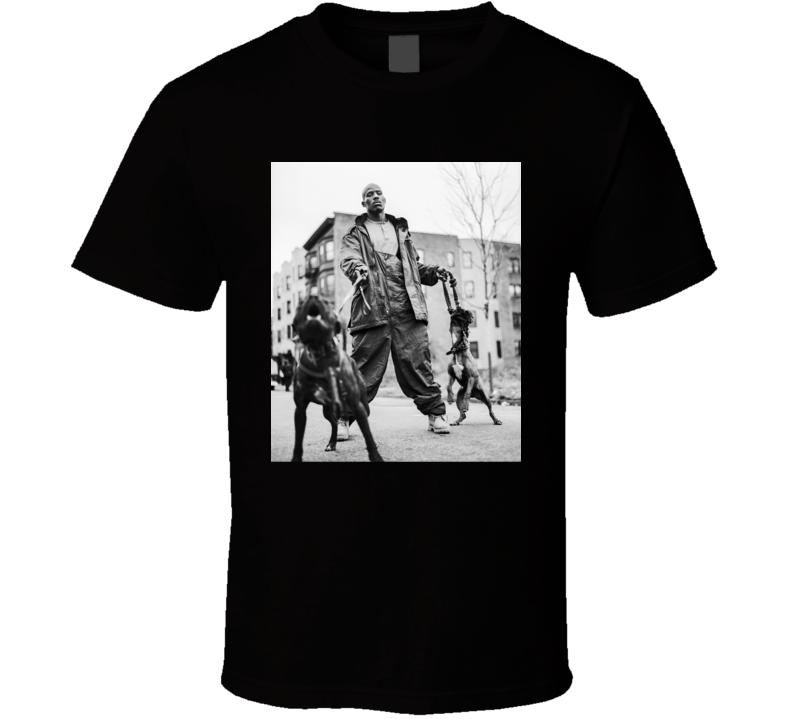 Dmx With Pitbulls Rap Hip Hop Fan T Shirt