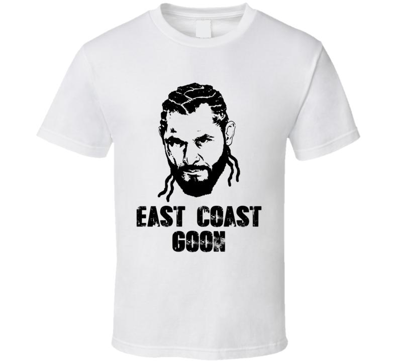 Jorge Masvidal East Coast Goon Mma Fighter Fan Cool T Shirt