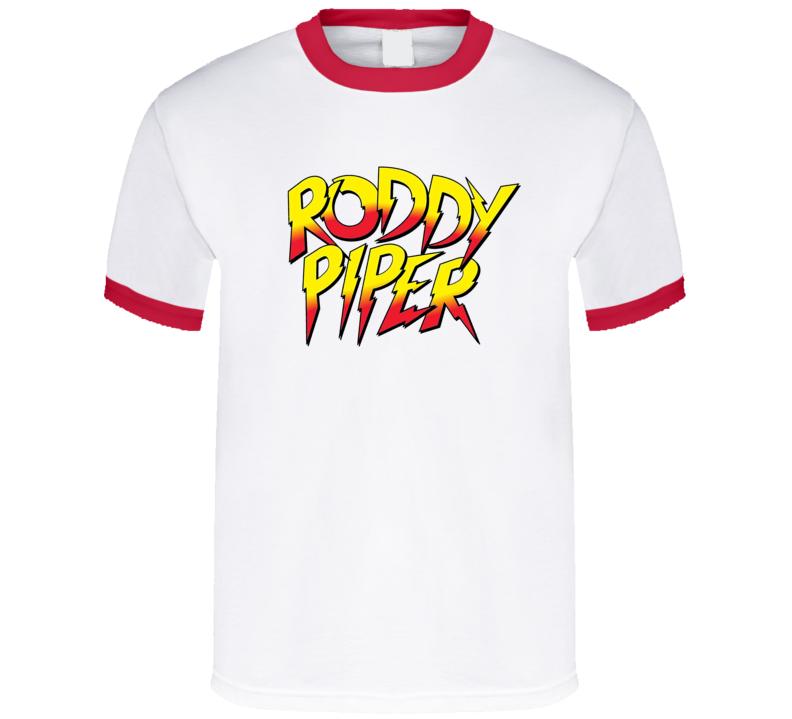 Roddy Piper Retro Wrestler Fan T Shirt