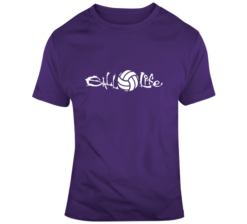 Ball Life Volleyball T Shirt