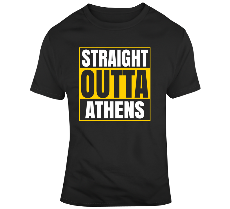 Straight Outta Athens T Shirt