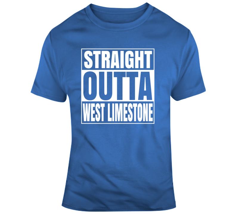 Straight Outta West Limestone T Shirt