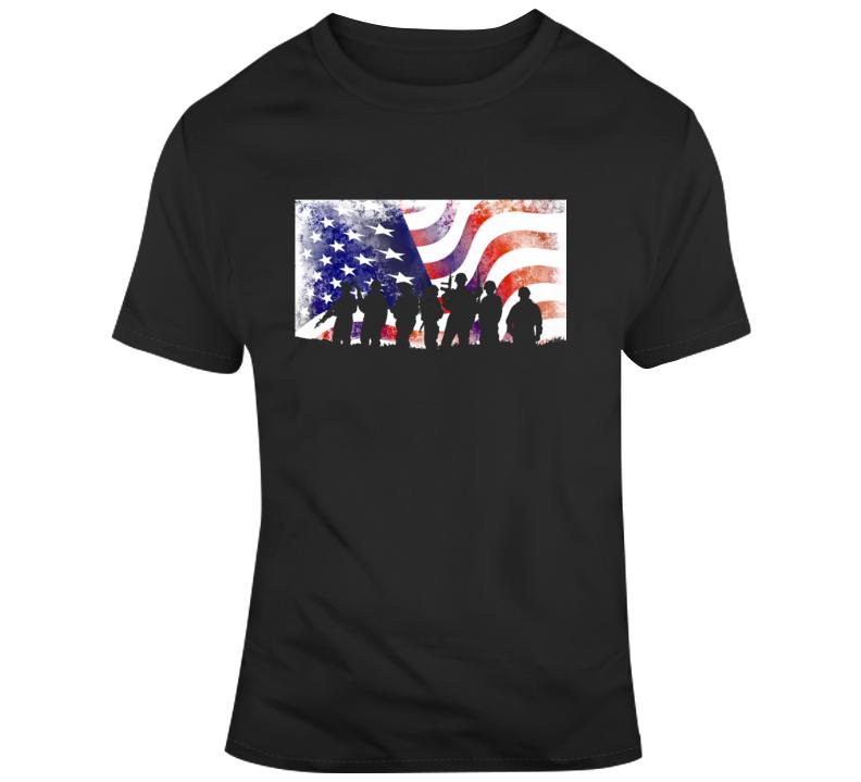Military Flag 1 T Shirt