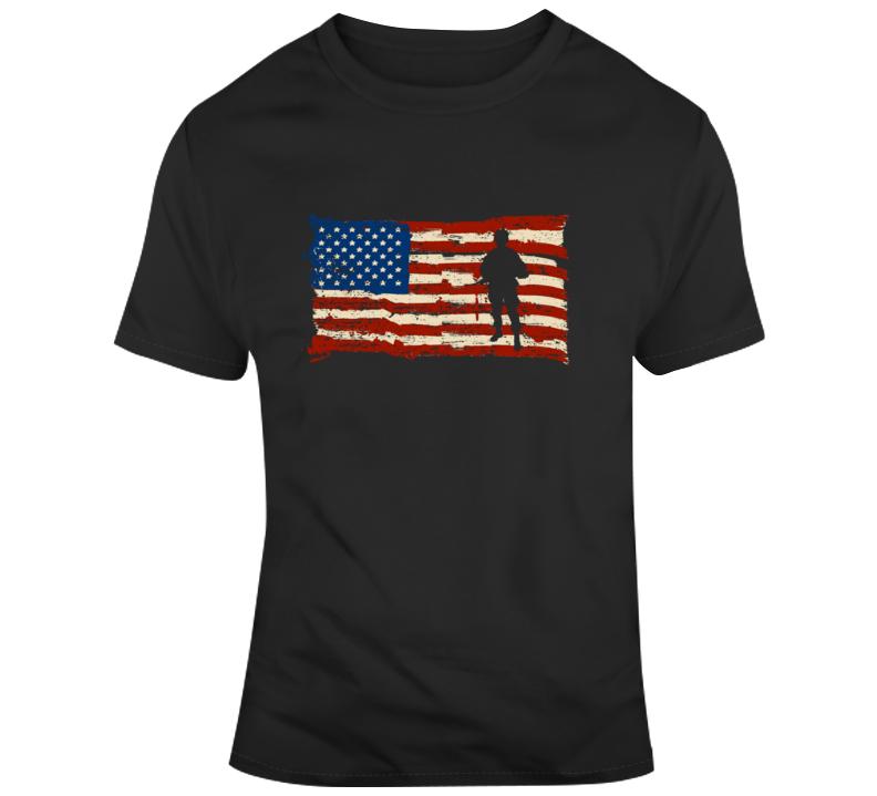 Military Flag 2 T Shirt